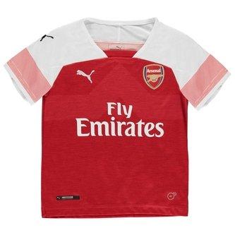 Arsenal 18/19 Home Kids S/S Replica Football Shirt