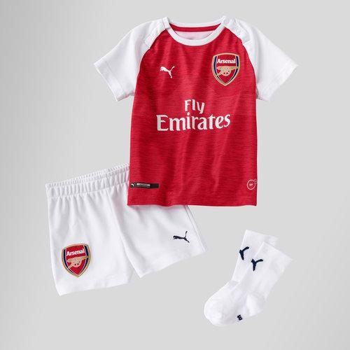 finest selection ade7b ae94e Puma Arsenal 18/19 Home Infant Football Kit, £20.00