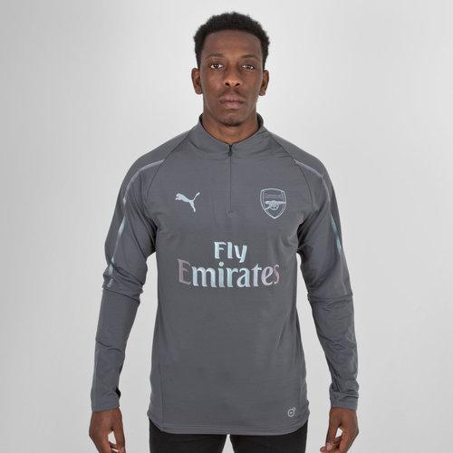 07e8d7ab35f7 Puma Arsenal 18 19 Players 1 4 Zip Football Training Jacket