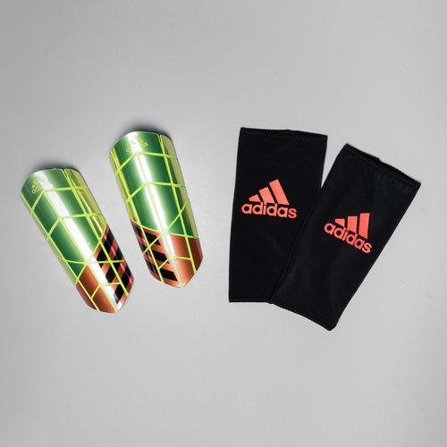 X Pro Sleeve Football Shin Guards