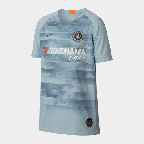 Chelsea Football Club Brt Stad Short Sleeved Jersey Junior Boys