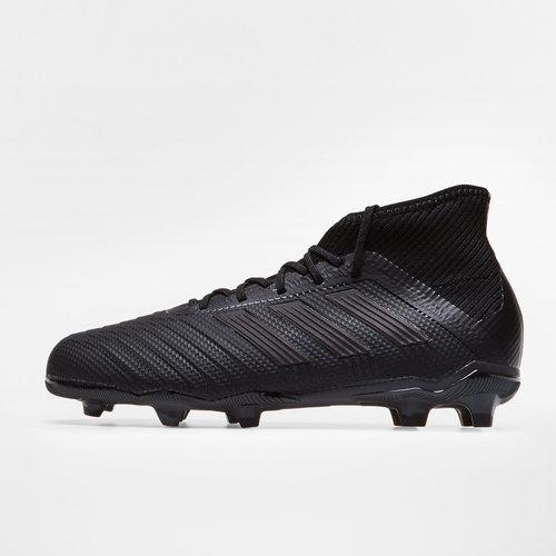 8adb40253 adidas Predator 18.1 FG Kids Football Boots. Core Black/Core Black/Real  Coral