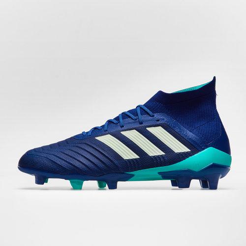 2222aedb4 adidas Predator 18.1 FG Football Boots. Unity Ink Aero Green Hi Res Blue