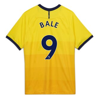 Tottenham Hotspur Gareth Bale Third Shirt 20/21 Junior