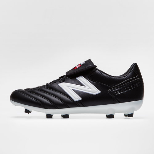 000741d5ec2f3 New Balance 442 Pro FG Football Boots. Black/White