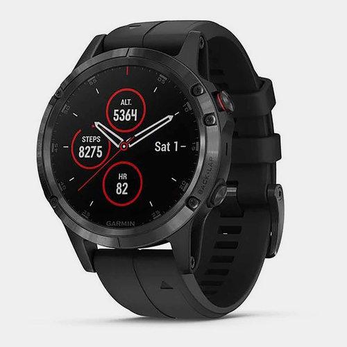 fenix 5 Plus Sapphire GPS Watch