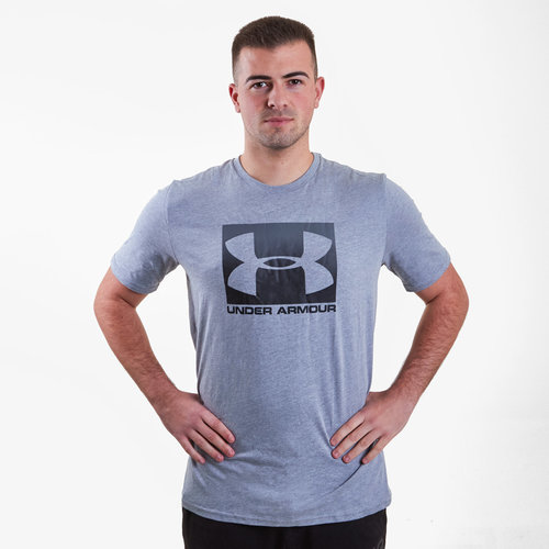Boxed Sport Style T Shirt Mens
