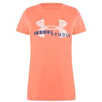 Armour Short Sleeve Graphic T Shirt Ladies