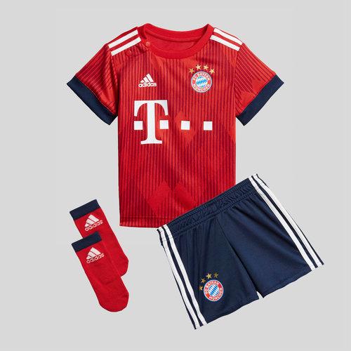 info for d2a0d 68f1b adidas Bayern Munich 18/19 Home Infant Replica Football Kit ...