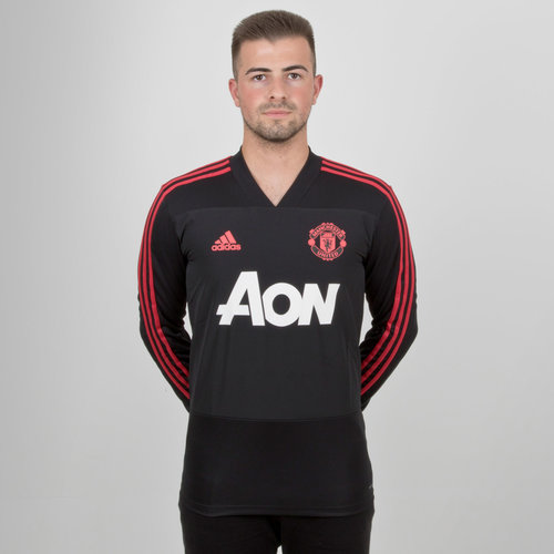Manchester United 18/19 L/S Football Training Top