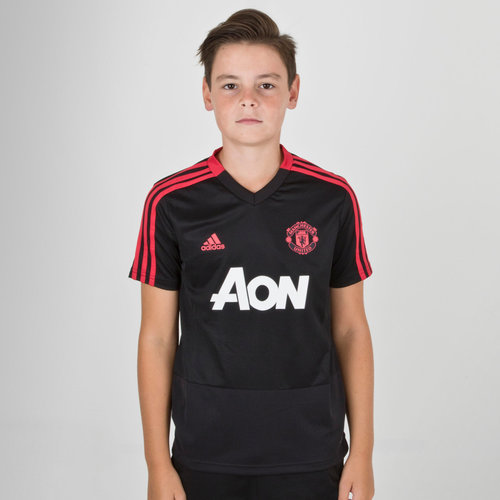 Manchester United 18/19 Kids S/S Football Training Shirt