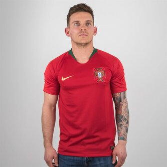 Portugal 2018 Home S/S Stadium Football Shirt