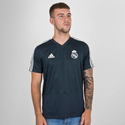 4dac7aa5f89 adidas Real Madrid FC 18 19 S S Football Training Shirt