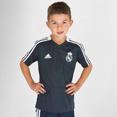 Real Madrid FC 18/19 Youth S/S Football Training Shirt