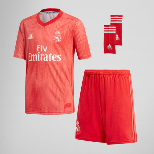 Real Madrid 18/19 3rd Kids Replica Football Kit