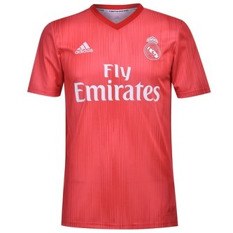 Real Madrid 18/19 3rd S/S Football Shirt