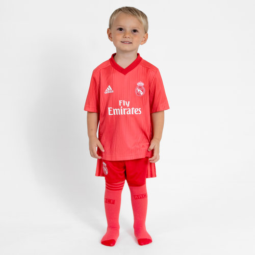 Real Madrid 18/19 3rd Mini Kids Replica Football Shirt