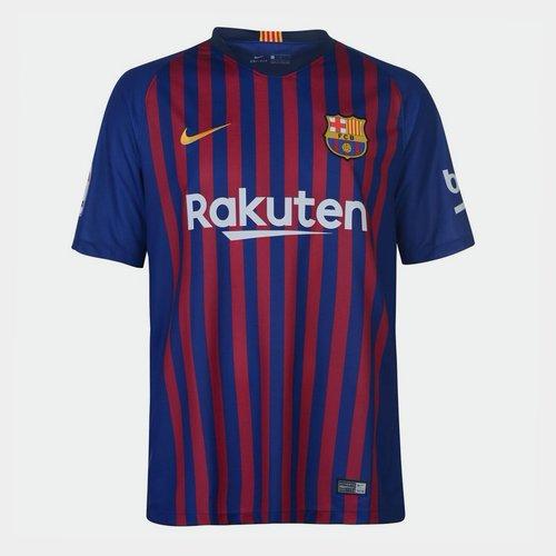 1c66dfc20 Nike FC Barcelona 18 19 Home S S Stadium Football Shirt