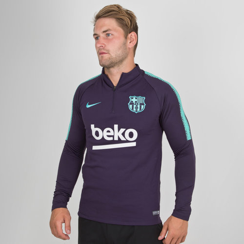 FC Barcelona 18/19 Dry Squad Football Training Top