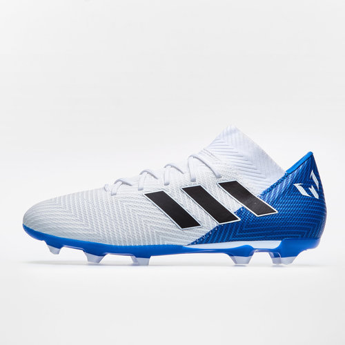 b949c7cfb adidas Nemeziz Messi 18.3 FG Football Boots. Footwear White Core Black Football  Blue