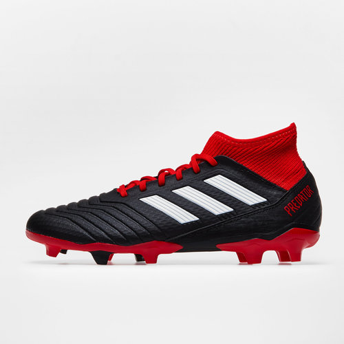 1d0d22e4b4f adidas Predator 18.3 FG Football Boots. Core Black Footwear White Red