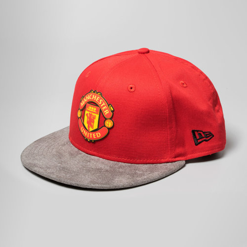 Manchester United 9Fifty Suede Vize Football Snapback Cap
