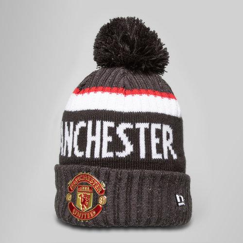 98b99cae382 New Era Manchester United Marl Jake Knit Bobble Football Beanie