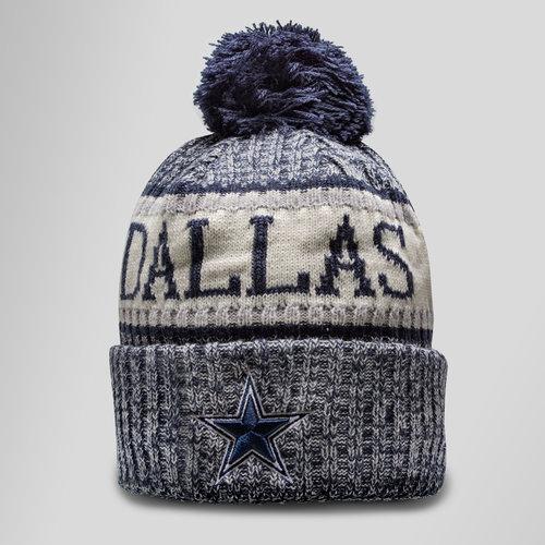 NFL Dallas Cowboys Sideline Bobble Knit Hat