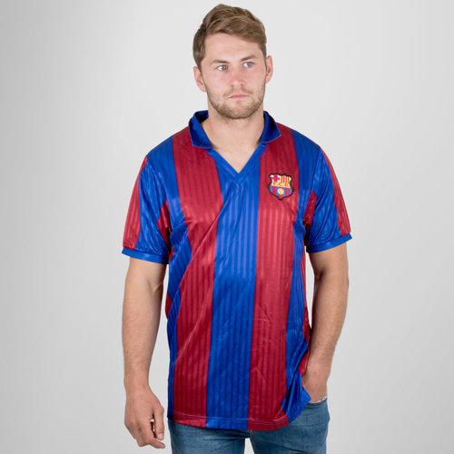 437d1dbe01a9 Score Draw Barcelona 1992 Retro Football Shirt