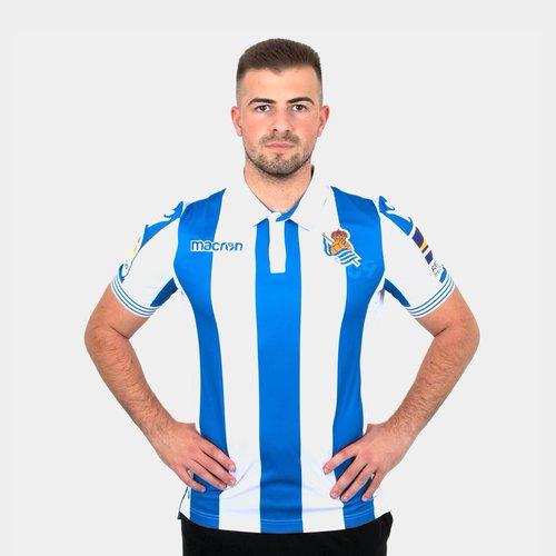 Real Sociedad 18/19 Home S/S Football Shirt