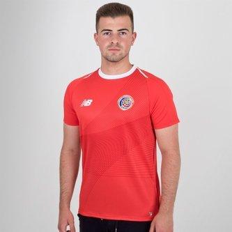 Costa Rica 2018 Home S/S Football Shirt