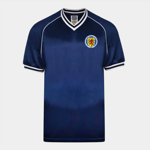 Draw Scotland 1982 Home Jersey