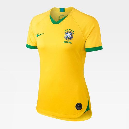 Brazil Home Jersey 2019 Ladies