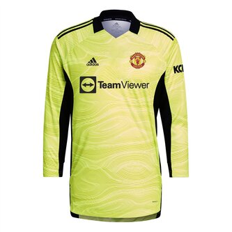 Manchester United Home Goalkeeper Shirt 2021 2022 Junior