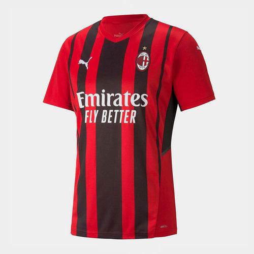AC Milan Home Shirt 2021 2022 Junior
