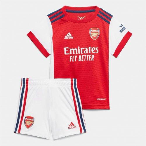 Arsenal Home Baby Kit 2021 2022