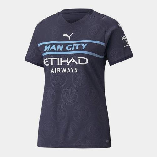 Manchester City Third Shirt 2021 2022 Ladies