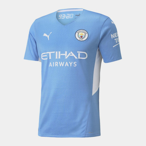 Manchester City Authentic Home Shirt 2021 2022