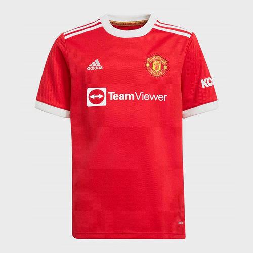 Manchester United Home Shirt 2021 2022 Junior
