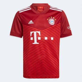 Bayern Munich Home Shirt 2021 2022 Junior