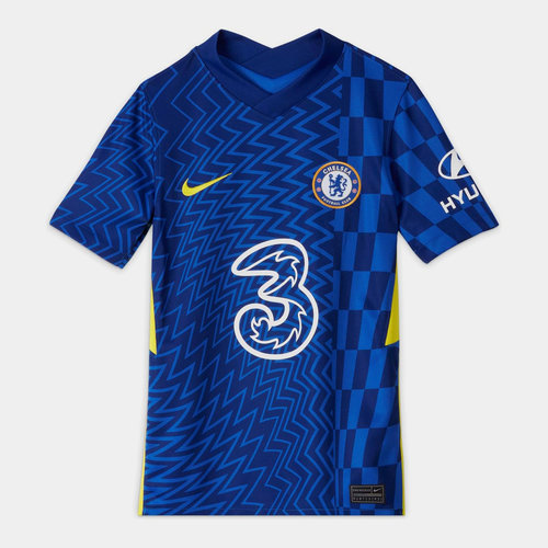 Chelsea Home Shirt 2021 2022 Junior