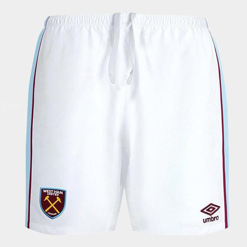 West Ham United Home Shorts 2021 2022 Junior