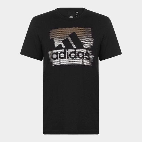 BOS Foil Logo T Shirt Mens