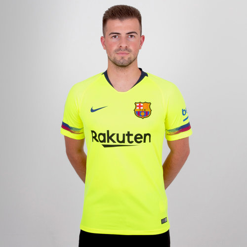 FC Barcelona 18/19 Away S/S Stadium Football Shirt