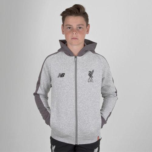 Liverpool FC 18/19 Kids Leisure Hooded Football Sweat