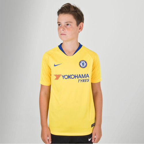 Chelsea FC 18/19 Away Kids S/S Football Shirt