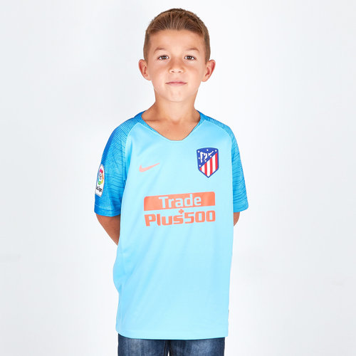 Atletico Madrid 18/19 Away Kids S/S Football Shirt