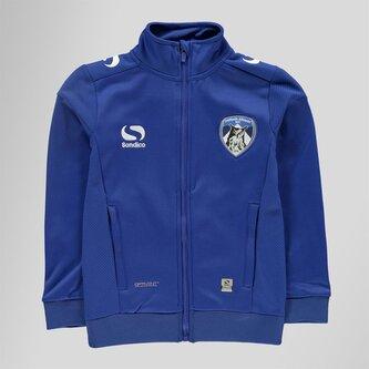 Oldham Athletic Kids Woven Football Jacket