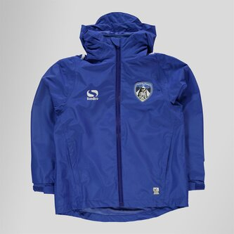 Oldham Athletic Kids Rain Football Jacket