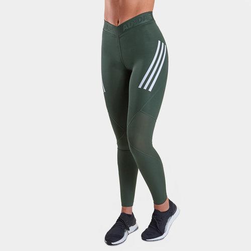 Alphaskin Sport Ladies 3 Stripes Long Tights